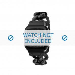 Diesel bracelet de montre DZ5181 Métal Noir 23mm