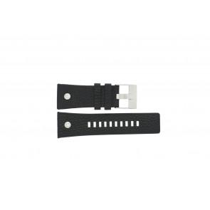 Diesel bracelet de montre DZ7125 / 11XXXX Cuir Noir 28mm