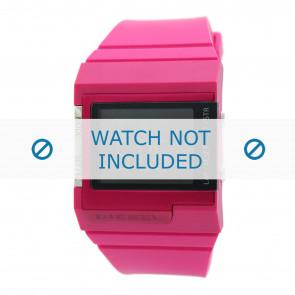 Diesel bracelet de montre DZ7133 Silicone Rose 23mm