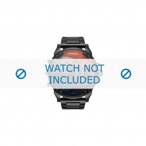 Diesel bracelet de montre DZ7395 Métal Noir 28mm