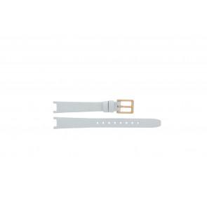DKNY bracelet de montre NY8784 Cuir Blanc 13mm + coutures défaut
