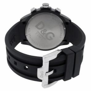Dolce & Gabbana bracelet de montre DW0380 Plastique Noir