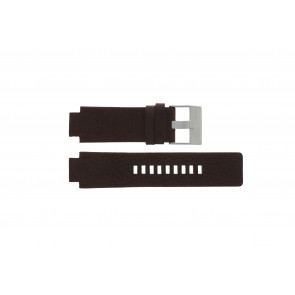 Diesel bracelet de montre DZ1123 / DZ1090  Cuir Brun 18mm