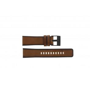 Diesel bracelet de montre DZ-4317 Cuir Brun 24mm