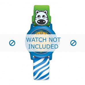 Esprit bracelet de montre ES106414-40BLGR Cuir Bleu