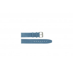 Bracelet de montre en cuir 26mm selle bleue G-33