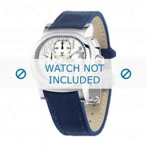 Festina bracelet de montre F16125.1  Cuir Bleu 23mm + coutures  bleues