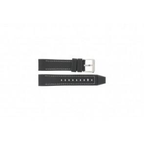 Festina bracelet de montre F16183 / 2 Cuir Bleu 22mm + coutures défaut