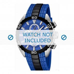 Festina bracelet de montre F16664/6  Plastique Bleu 23mm