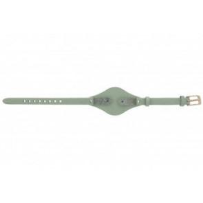 Fossil bracelet de montre ES-3467 Cuir Vert 8mm