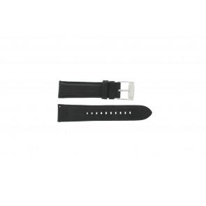 Fossil bracelet de montre FS-4745 Cuir Noir 22mm