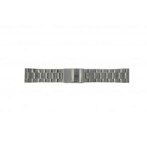 Fossil bracelet de montre FS4662 / 12XXXX / 25XXXX Métal Gris anthracite 24mm