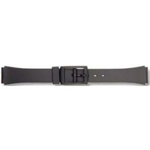 Bracelet de montre P65 Plastique Noir 12mm