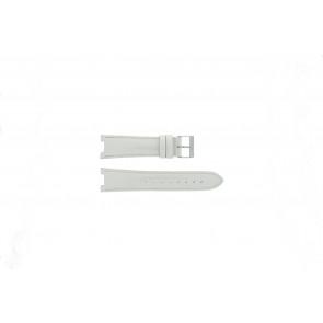 Guess bracelet de montre W11586L3 Cuir Blanc creme 22mm