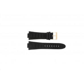 Guess bracelet de montre W14029G1 / W15513G1 Cuir Noir 14mm