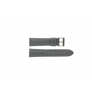 Guess bracelet de montre W18549G2 Cuir Gris 22mm