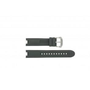 Bracelet de montre BTB.M.D.CH.2.2 Caoutchouc Gris 21mm