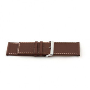 Bracelet de montre en cuir brun 34mm EX-J43