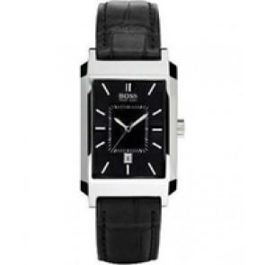 Bracelet de montre Hugo Boss HB-47-1-14-2143 / HB659302142 / 15122352 Cuir Noir 22mm