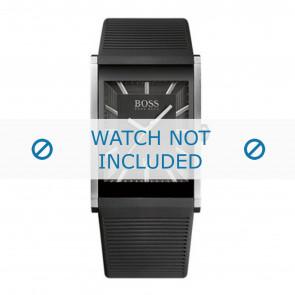 Hugo Boss bracelet de montre HB1512980 / HB-218-1-14-2615 Plastique Noir