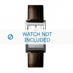 Hugo Boss bracelet de montre HB-22-1-14-2008 / HB1512033 Cuir Brun