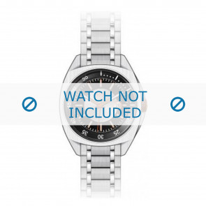 Hugo Boss bracelet de montre HB-52-1-14-2098 / HB-52-1-14-2101 / HO1512296 / HO1512300 / HO1512294 Métal Argent