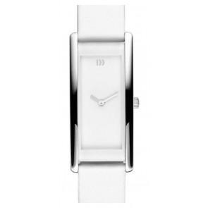 Bracelet de montre Danish Design IV12Q937 Cuir Blanc 15mm