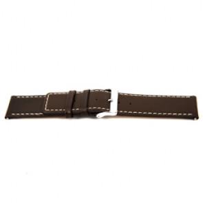Bracelet de montre en cuir brun 32mm EX-J43