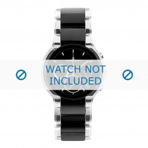 Jacques Lemans bracelet de montre 1-1580A Céramique Argent