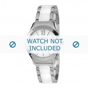 Jacques Lemans bracelet de montre 1-1796B Céramique Bicolore