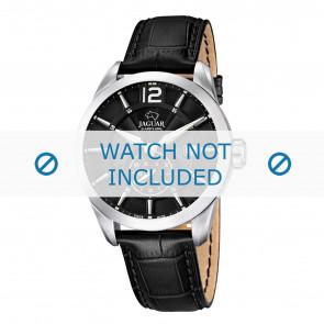 Jaguar bracelet de montre J678.A / J678.B Cuir Noir 22mm