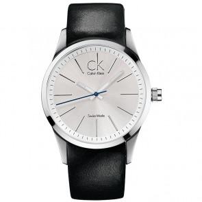 Bracelet de montre Calvin Klein K2241126 Cuir Noir