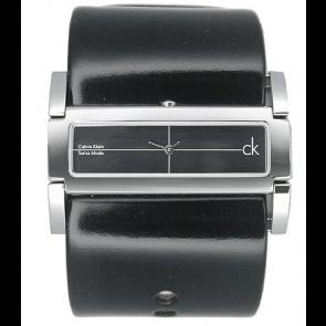Bracelet de montre Calvin Klein K44231 Cuir Noir