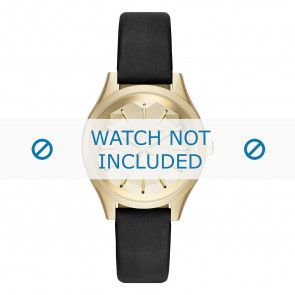 Karl Lagerfeld bracelet de montre KL1617 Cuir Noir