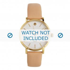 Bracelet de montre Kate Spade New York 1YRU0073 Cuir Rose 16mm