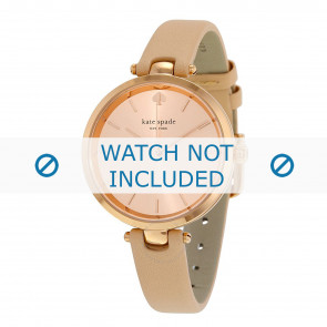 Kate Spade New York bracelet de montre 1YRU0812 / Holland Cuir Beige