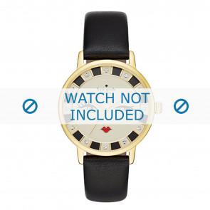 Kate Spade New York bracelet de montre KSW1052 / METRO Cuir Noir