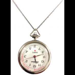 Une montre avec une chaîne acier de 34cm