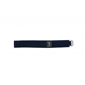Velcro marine bleu 18mm
