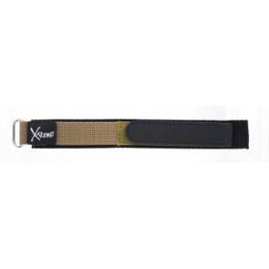 Velcro 20mm brun clair