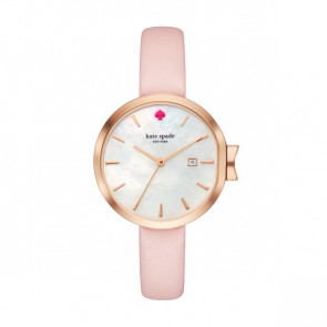 Kate Spade New York bracelet de montre KSW1325 Cuir Rose