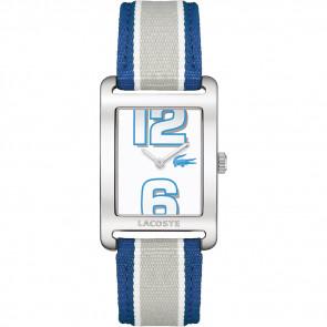 Bracelet de montre Lacoste 2000693 / LC-51-3-14-2261 Cuir Bleu 20mm