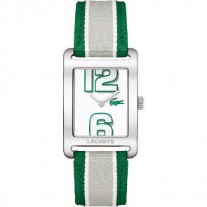 Bracelet de montre Lacoste 2000696 / LC-51-3-14-2261 Cuir Vert 20mm