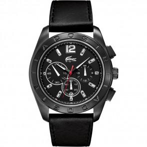 Bracelet de montre Lacoste 2010609 / LC-53-1-34-2302 Cuir Noir 24mm