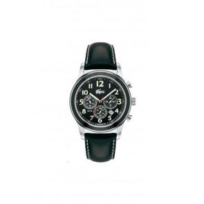 Bracelet de montre Lacoste 2010333 / LC-11-1-14-0032 Cuir Noir 22mm