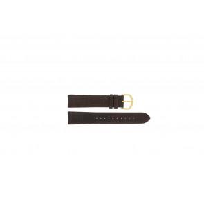 Lorus bracelet de montre VX32-X380 Cuir Brun 19mm