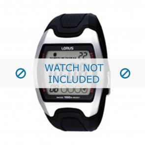 Lorus bracelet de montre Z009-X002 Plastique Noir