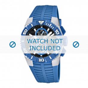 Lotus style bracelet de montre 15778.3 Plastique Bleu clair
