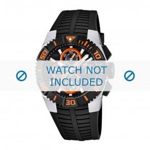 Lotus style bracelet de montre 15778.5 / 15778.6 / 15778.7 / 15778.8 Plastique Noir