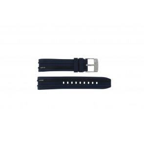 Lotus bracelet de montre 15881 En caoutchouc Bleu foncé 18mm